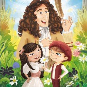 Nina, Léo et Jean de La Fontaine